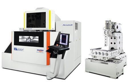 Электроэрозионные проволочно-вырезные станки погружного типа с системой автоматической заправки проволоки ACCUTEX (серия AP)