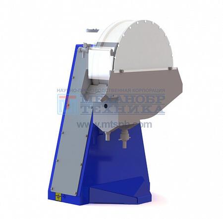 Барабанный магнитный сепаратор для мокрого обогащения ЭБМ 63/18