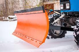 Отвал поворотный снеговой для трактора МТЗ, ширина 2400 мм, высота 700 мм