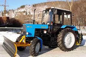 Отвал поворотный снеговой с гидроповоротом для трактора МТЗ, ширина 2400 мм, высота 700 мм