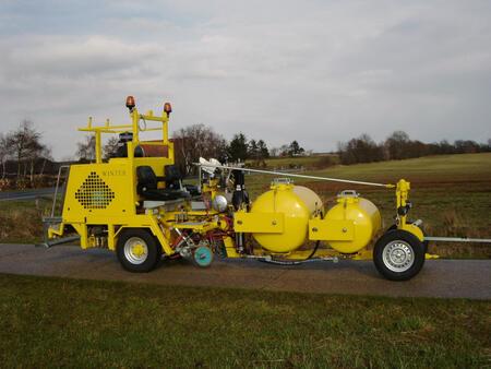 Winter WP 1000 краска машина для дорожной разметки