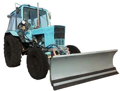 Отвал механический на трактор МТЗ, ширина отвала 1,8 м