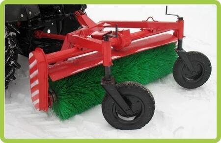 Оборудование щеточное «ЛЮКС» для трактора МТЗ 320 с рабочей шириной  1300 мм