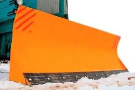 Отвал передний поворотный устанавливается на трактор иностранного производства