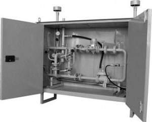 Пункт учета и редуцирования газа ЭЛЬСТЕР ПРДГ-ШУГО(ШУЭО)-500 на базе КПРГ-06