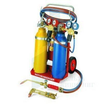 Универсальный набор (тройной газ) Rothenberger RE17 AMS 5/5 передвижной