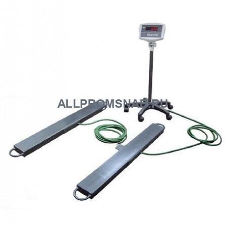 Балочные весы ЕВ4-2000-B, индикатор WI-5R