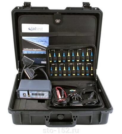 Мультимарочный сканер Jaltest Link, для грузовиков, автобусов и коммерческого транспорта с ПО и разъемами