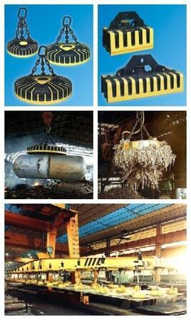 Электромагниты грузоподъемные для металлургической отрасли и металлолома