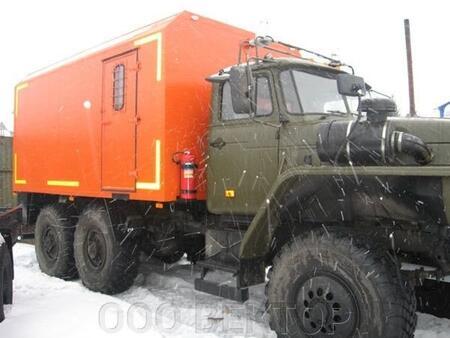 Автомобиль для взрывчатых веществ УРАЛ 4320