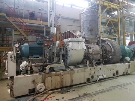 Dismantling, installation, start-up of Siemens SGT100 power plants