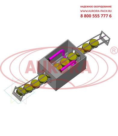 Облучатель ОБ-1П для обеззараживания пробок тары на линиях автоматического розлива