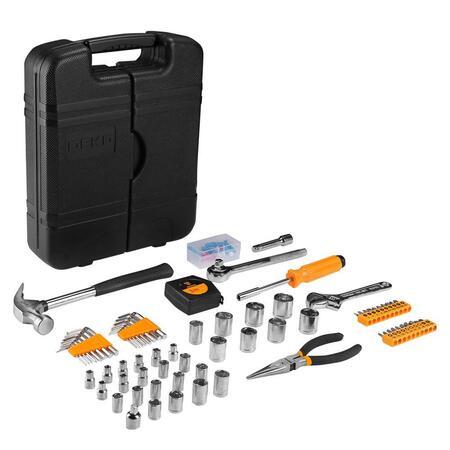 Набор инструментов для дома и для авто DEKO DKMT152 (152 предмета) в чемодане 065-0307