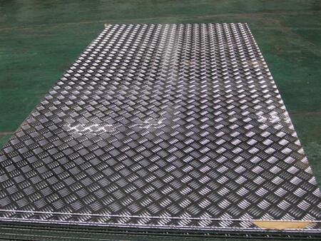 Лист алюминиевый рифленый АМг2Нр