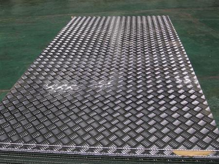 Лист алюминиевый рифленый 1105АН2