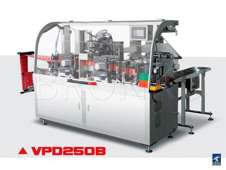 Оборудование для упаковки влажных салфеток в стик пакет VPD250B