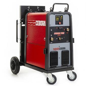 Сварочный полуавтомат Cebora Synstar TWIN 270 T - Pulse, Double Pulse, 2 механизма подачи проволоки