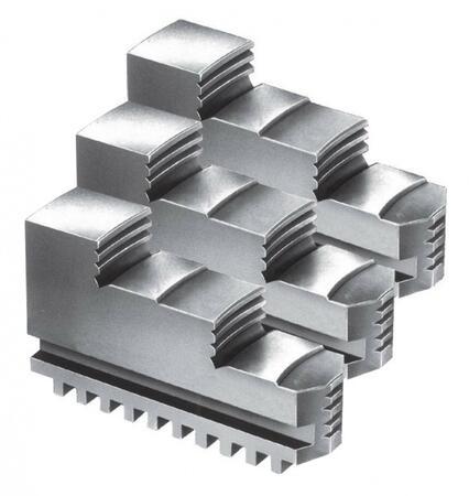Комплект прямых сырых кулачков для патрона 200 мм