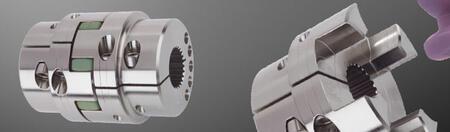 Кулачковая муфта с зажимными ступицами для шлицевых отверстий по DIN и SAE