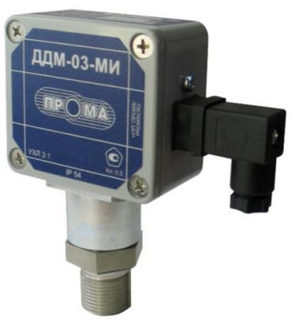 Датчик давления ДДМ-03-ДИВ-МИ-02