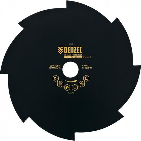 Диск для триера, 230 х 25,4 , толщина 1,6 , 8 лезвий Denzel