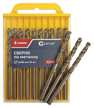 Сверло по металлу Cutop EXPERT, 3,9х75 мм (10 шт)