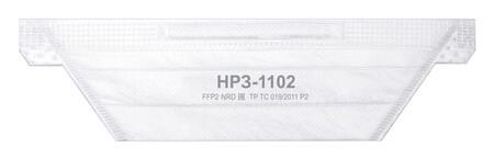 Полумаски фильтрующие НР3-1102, FFP2, полипропиленовые, многослойные без клапана, набор 20 шт.