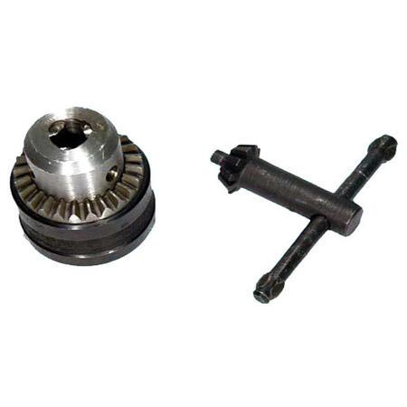 Патрон сверлильный Резьбовой с ключом ПСР-10 (2,0-10мм, М12х1,25)