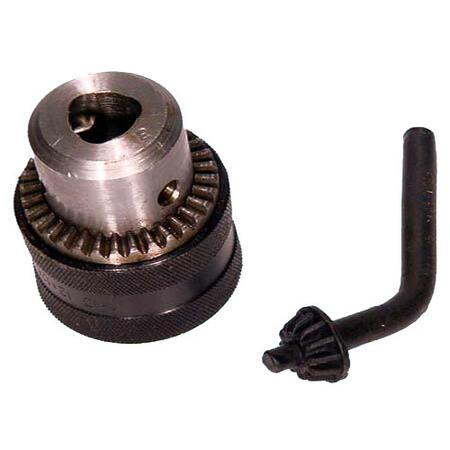 Патрон сверлильный Резьбовой с ключом ПСР-13 (1,5-13мм, М12х1,25) (J3513D)