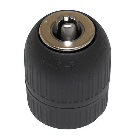 Патрон сверлильный Самозажимной бесключевой ПССР-13 (2,0-13мм, М12х1,25) резьбовой (J1513F)