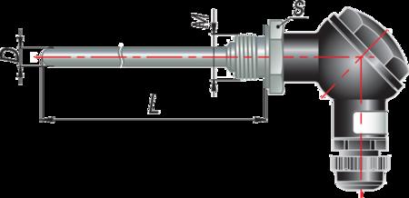 Термопара с коммутационной головкой дТП105 МГ