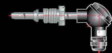 Термопара с коммутационной головкой дТП205 МГ