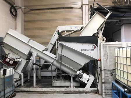 Шредер для измельчения металлической стружки Erdwich GmbH M450/2-420 488