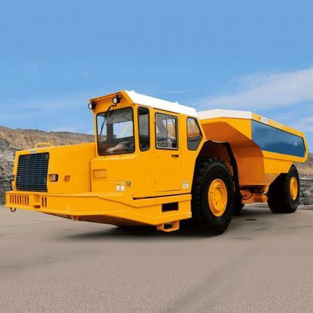 Машины погрузочно-транспортные шахтные серии МоАЗ-75850