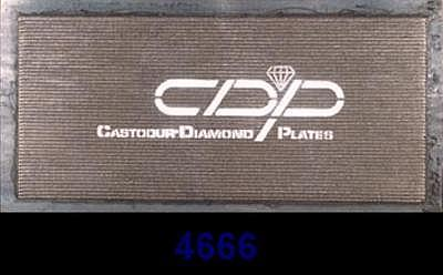 Износостойкая биметалическая плита CDP 4666