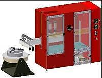 Универсальная автоматическая установка для порошковой наплавки заготовок запорной арматуры.