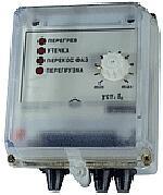 Устройство защитного отключения трехфазного электродвигателя