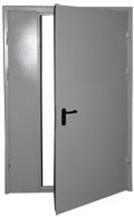Дверь противопожарная дпм-02/30 (ei 30) двупольная, правая (рабочая створка 900мм.)