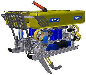 Телеуправляемый подводный аппарат Q-тренчер 600