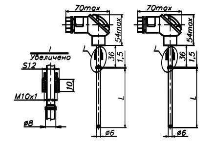 Комплекты термометров сопротивления КТПТР-04