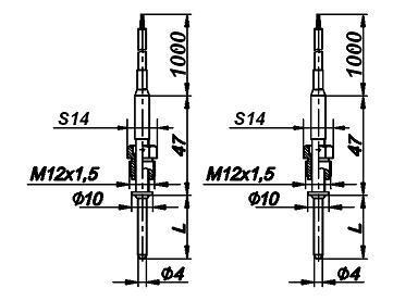 Комплекты термометров сопротивления КТПТР-08