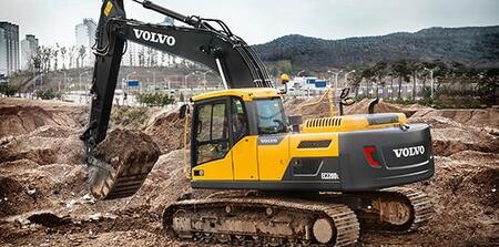Гусеничные экскаваторы Volvo EC220D, EC250D, EC300D