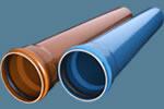 Канализационные трубы НПВХ системы наружной канализации Biepeau фирмы Alphacan Omniplast