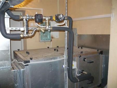 Системы вентиляционные для судов