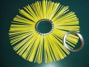 Щеточные диски с металлическим сердечником
