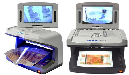Детекторы валют просмотровые DORS 1300