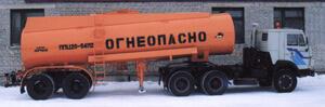 Машины для перевозки светлых нефтепродуктов: ППЦ-20-00, ППЦ-20-01