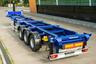 Полуприцеп контейнеровоз прямой с возможностью самосвальной разгрузки Grunwald