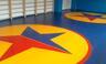 Покрытие борцовское Sportstyle для ковра 12*12м с разметкой и кремплением