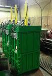 Вертикальный пакетировочный пресс ПВ-12 - Раздел: Отходы - оборудование для сбора и переработки